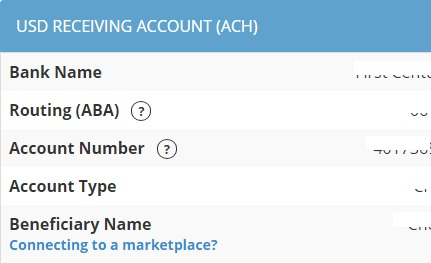 Getting Amazon Payments Using Payoneer As US Bank Account