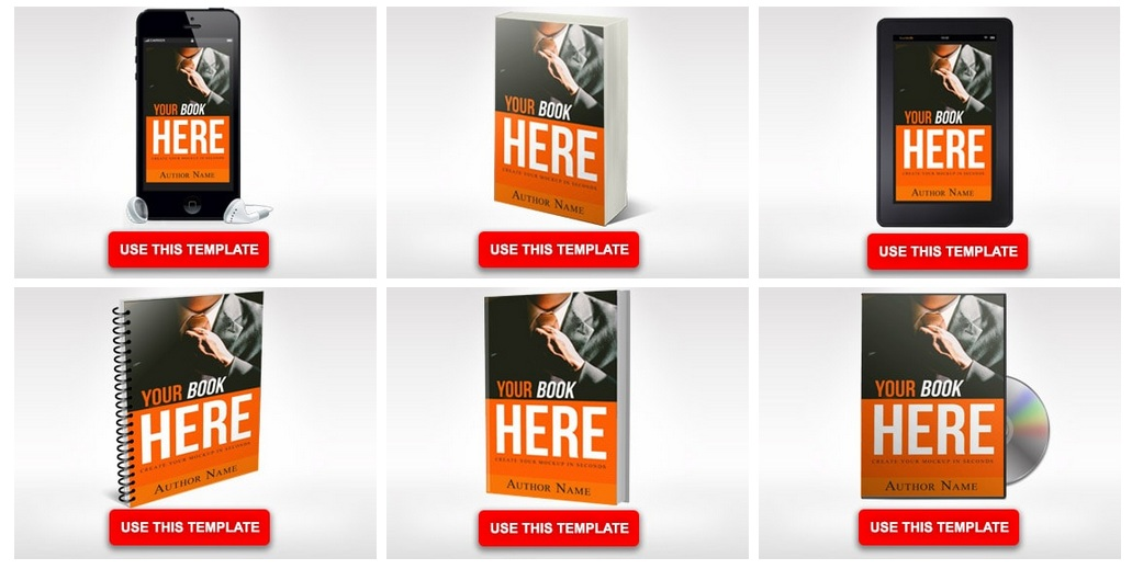 free ebook cover creator with mockups using adazing
